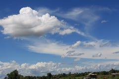 Azionamento del cielo Fotografie Stock