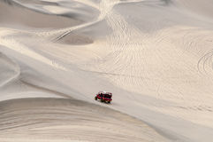 Azionamento del deserto Fotografia Stock