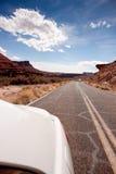 Azionamento del deserto Fotografia Stock Libera da Diritti