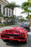 Azionamento del rodeo, Beverly Hills, Ca Immagini Stock