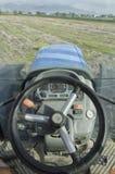 Azionamento del trattore Fotografie Stock