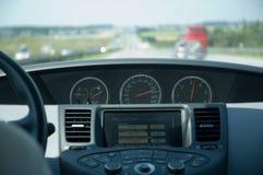 Azionamento di alta velocità (Nissan) Fotografia Stock Libera da Diritti