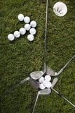 Azionamento di golf fotografie stock libere da diritti