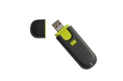 Azionamento di memoria del USB Fotografia Stock