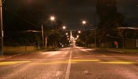 Azionamento di notte Fotografie Stock Libere da Diritti