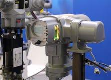 Azionamento elettrico con l'unità di controllo incorporata Sistema di gestione di potere fotografie stock