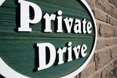 Azionamento privato Immagine Stock Libera da Diritti
