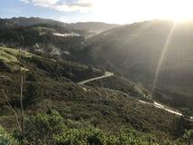 Azionamento scenico di California immagine stock