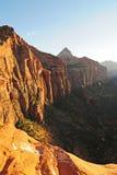 Azionamento scenico di Mt. Carmel Fotografie Stock Libere da Diritti