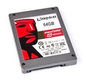 Azionamento semi conduttore (SSD) con capienza 64GB Immagini Stock