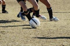 Azione 2. di calcio. Fotografie Stock