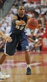 Azione 2011-12 di pallacanestro del NCAA Fotografie Stock Libere da Diritti