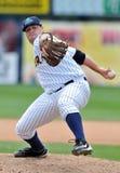 Azione 2012 di baseball della Lega Minore Immagine Stock Libera da Diritti