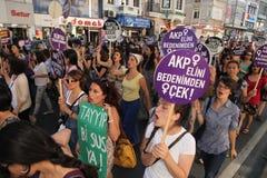 Azione contro legge di anti-abortion immagine stock