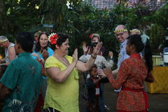 Azione dagli orfani di un cacao, di un caffè e di una piantagione della spezia al villaggio di Kalibaru in Java Indonesia orienta Immagine Stock Libera da Diritti
