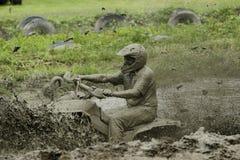 Azione del fango di Chuggars Immagine Stock Libera da Diritti