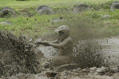 Azione del fango di Chuggars Immagini Stock