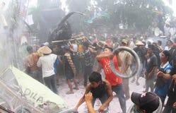 Azione del tabacco Fotografia Stock Libera da Diritti
