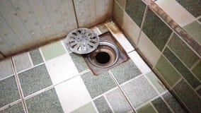 Azione della foto di drenaggio del bagno Fotografia Stock