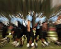 Azione di gioco del calcio Fotografia Stock Libera da Diritti