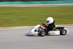Azione di Karting (vaga) Fotografie Stock