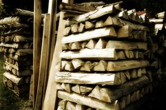 Azione di legno Fotografia Stock