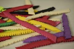azione di origami 3D Fotografia Stock Libera da Diritti