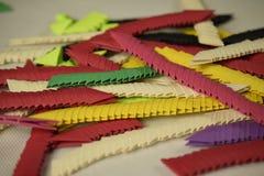 azione di origami 3D Fotografia Stock