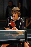 Azione di ping-pong Immagini Stock