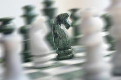 Azione di scacchi Fotografia Stock Libera da Diritti