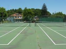 Azione di tennis Fotografia Stock Libera da Diritti