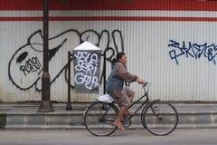 Azione di vandalismo nelle infrastrutture Fotografia Stock Libera da Diritti