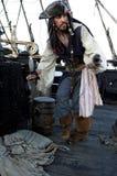 Azione furtiva del pirata Fotografie Stock Libere da Diritti