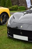 Azione furtiva Ferrari 812 ultrarapido fotografia stock libera da diritti