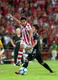 Azione in League prima tailandese Immagini Stock