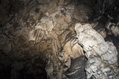 Azishskaya grotta Kaukasus Arkivbild