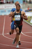 Aziz Ouhadi - sprinter Royalty Free Stock Photography
