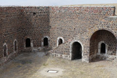 The Aziziye Fort III in Erzurum, Turkey. Royalty Free Stock Image