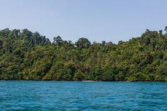 Azja, azjata, Ko Chuek, Tajlandzki, Tajlandia, andaman, ko lanta, woda, wakacje, podróż, natura, wybrzeże, palma, morze, wyspa, o Zdjęcie Royalty Free