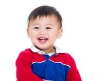 Azja chłopiec excited obrazy stock