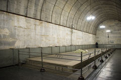 Azja chińczyk, Pekin, Ming dynastii Tombsï ¼ Œunderground palaceï ¼ ŒUnderground grobowiec fotografia stock