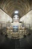 Azja chińczyk, Pekin, Ming dynastii Tombsï ¼ Œunderground palaceï ¼ ŒUnderground grobowiec obraz stock