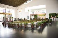 Azja chińczyk, Pekin, Chiny Ogrodowy muzeum, salowa powystawowa sala Zdjęcia Royalty Free