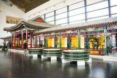 Azja chińczyk, Pekin, Chiny Ogrodowy muzeum, salowa powystawowa sala Zdjęcie Stock