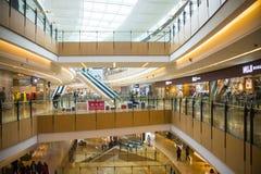 Azja Chiny, Pekin, indygowy zakupy plac, salowa budynek struktura zdjęcie stock