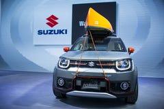 Azja Chiny, Pekin, 2016 międzynarodowych samochodów wystaw, salowa powystawowa sala, SUZUKI, IGNIS pojęcia samochód Obrazy Stock