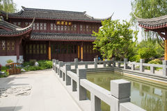Azja Chiny, Pekin, ogrodowy expo, Ogrodowy architectureï ¼ Œ Fotografia Stock