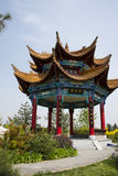 Azja Chiny, Pekin, ogrodowy expo, Ogrodowy architectureï ¼ ŒPavilion Obrazy Stock