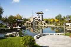 Azja Chiny, Pekin, Ogrodowy expo, Ogrodowy Landscapeï ¼ Œ Obraz Royalty Free