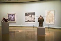 Azja Chiny, Pekin, Porcelanowy muzeum sztuki, rzeźba, jędrność obrazy royalty free